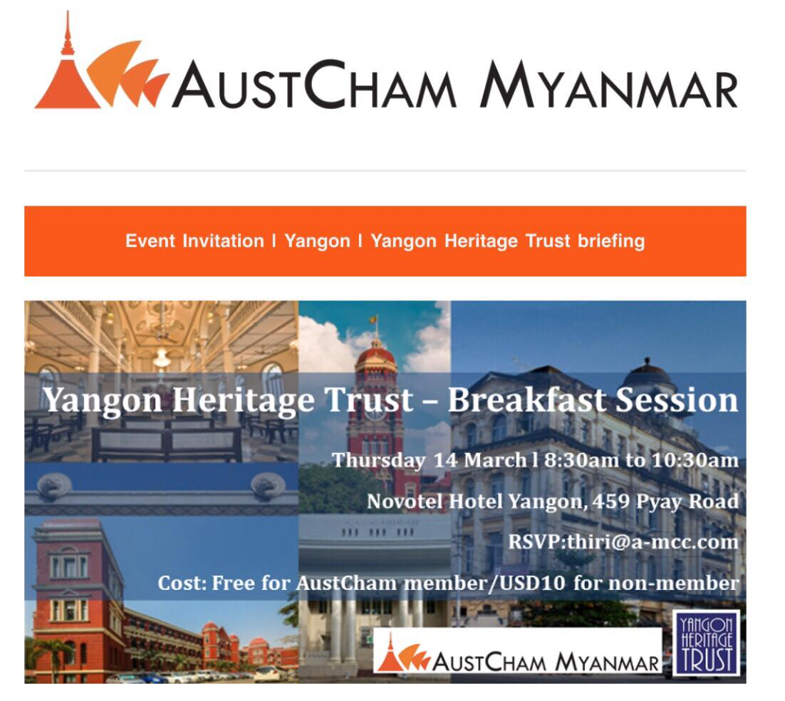 Other events – Australia Myanmar Institute
